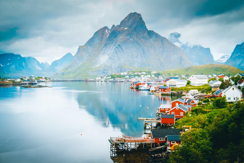 Reine. Guide to Lofoten, Norway.
