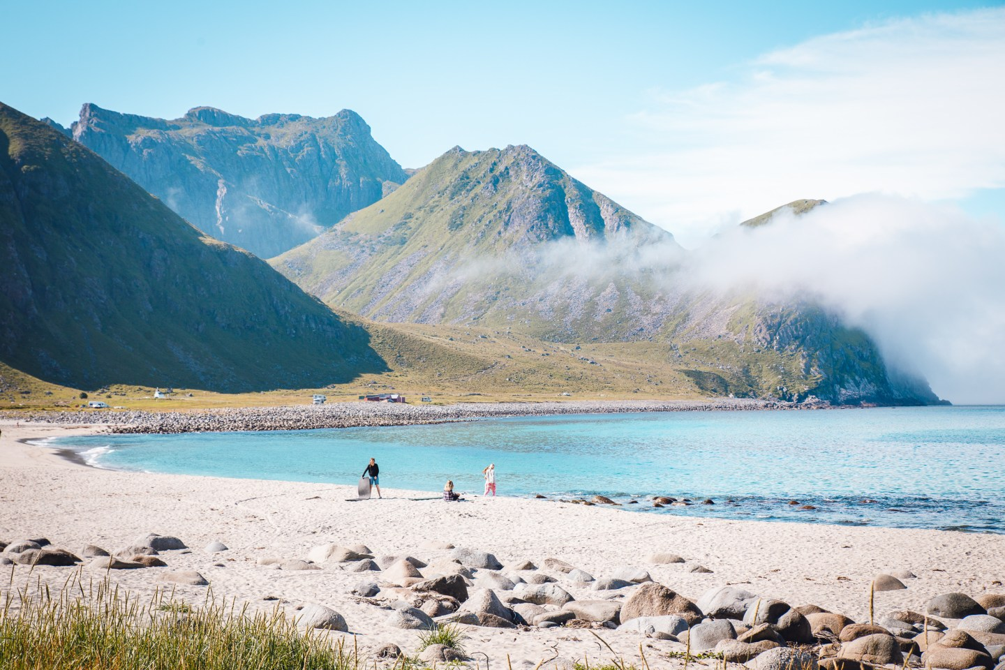 Unstad Beach, Lofoten, Norway