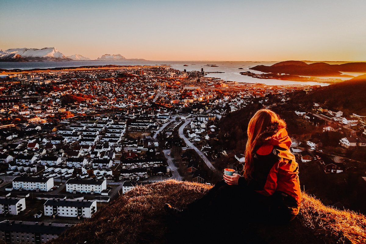Things to do in Bodø: see the city from Ramnfloget