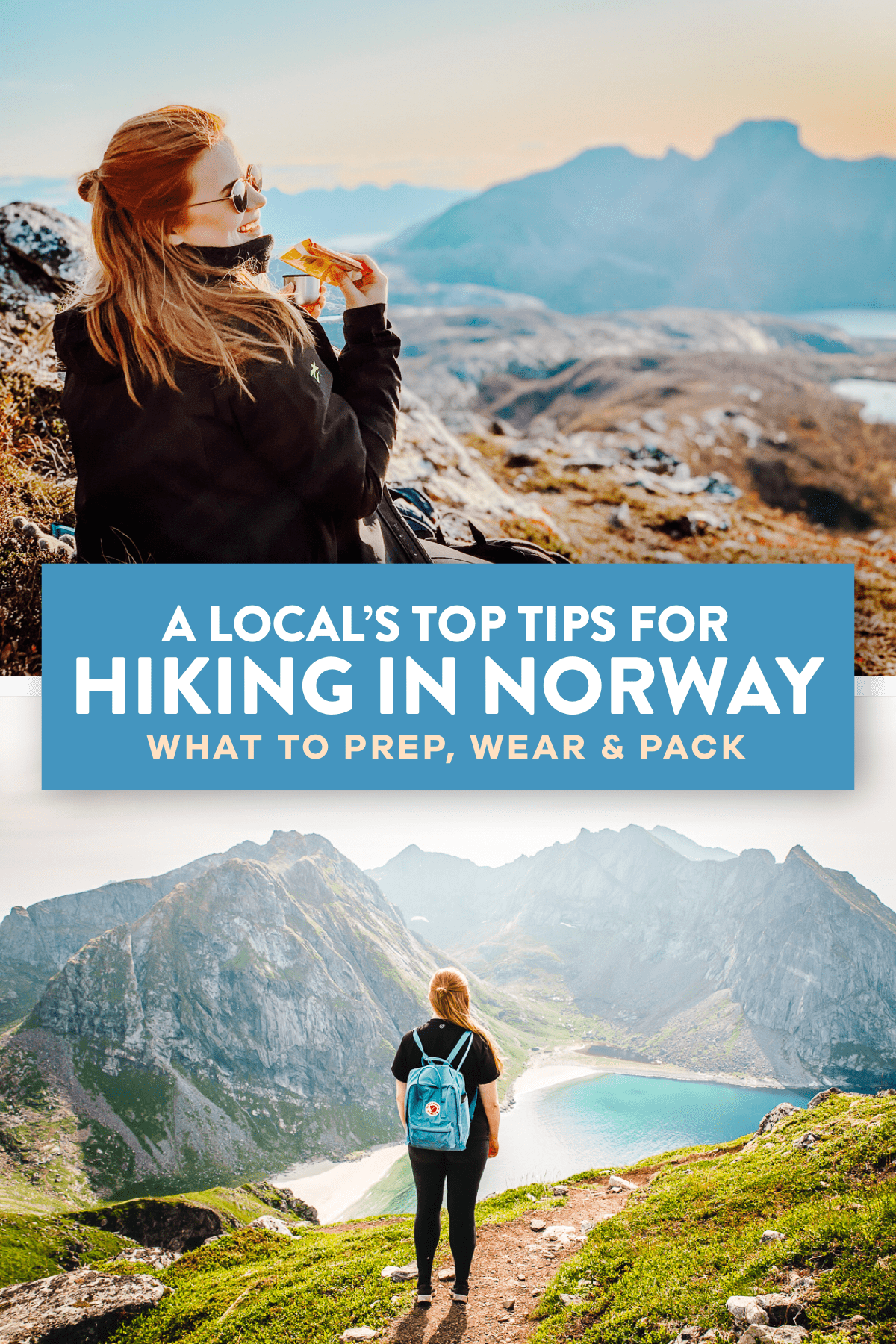 Hiking In Norway Pin 2