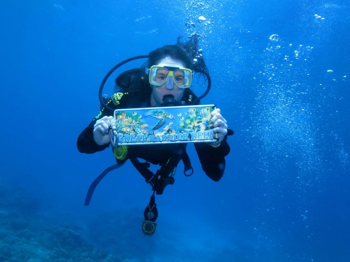 Even if you're scared of the ocean, you should try an intro dive in the Great Barrier Reef.