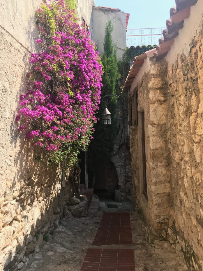 While in the French Riviera, take a day trip to Eze to explore its cobblestone streets.
