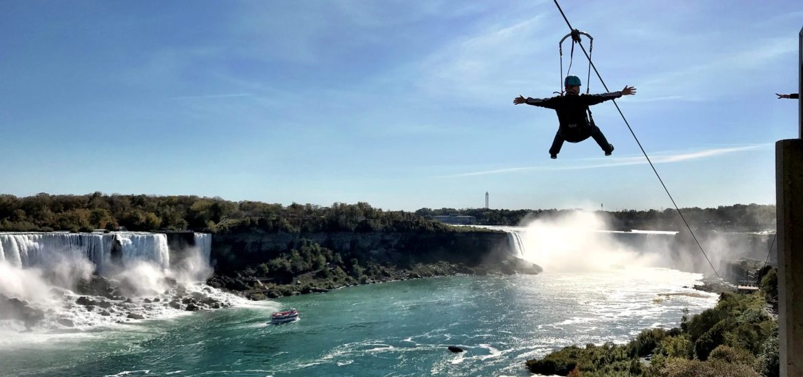 Add ziplining over the falls to your 48 hour Niagara Falls itinerary.