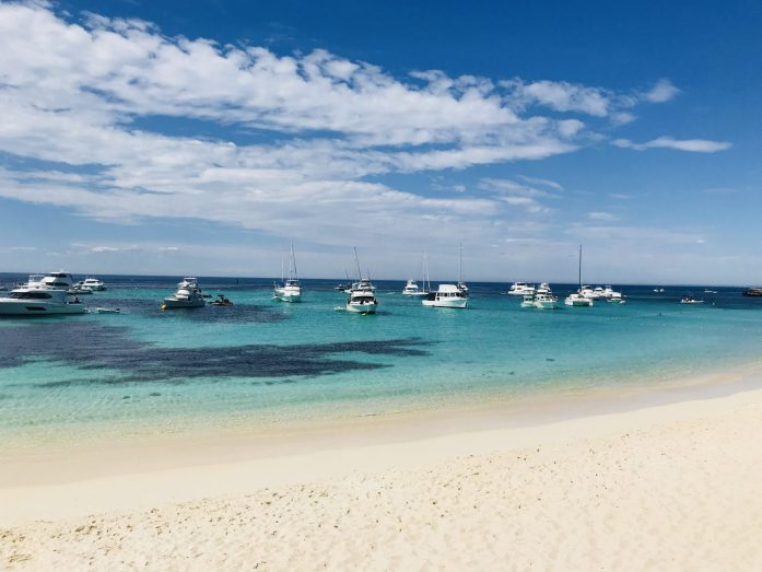 For a fun day trip from Perth, head to Rottnest Island for snorkeling and bike riding.