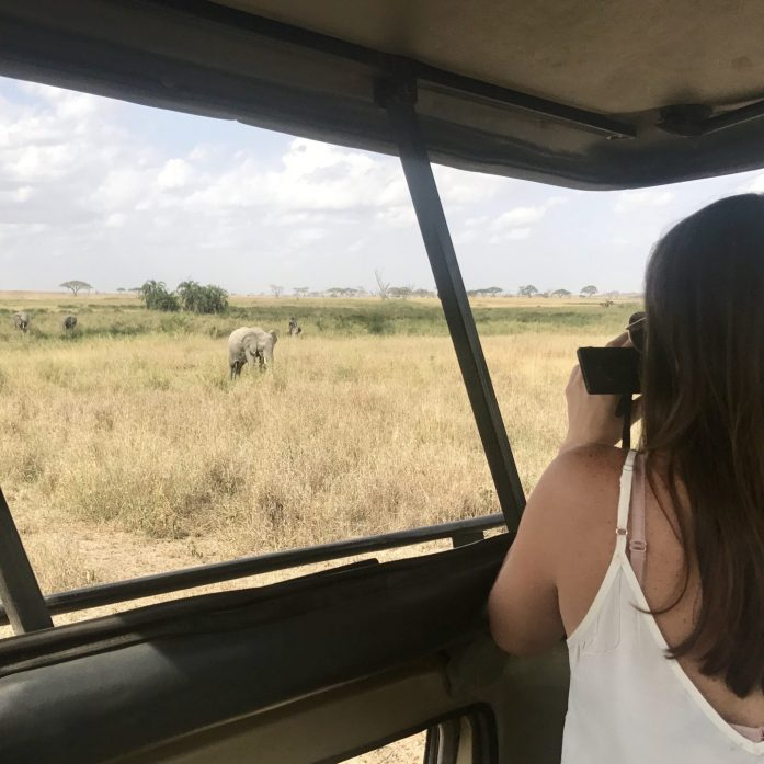 Don't forget to bring a long lens for capturing animals further from your safari jeep.