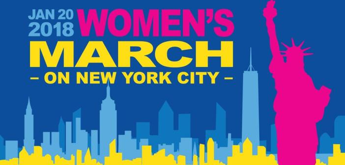 SAT, JAN 20th:  2018 WOMEN'S MARCH ON NEW YORK CITY