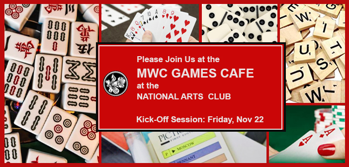 NEW RECURRING EVENT: Welcome to the MWC GAMES CAFE