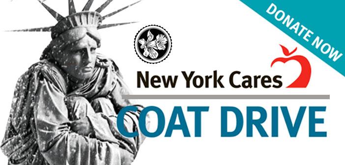 NY CARES COAT DRIVE – 2019