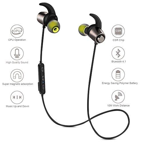 DOESIT Bluetooth Headphones,Wireless V4.1 Running