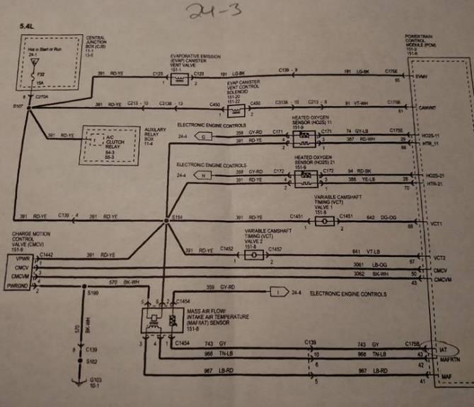 2005 ford f350 54 crank sensor wiring diagram  maniaclasopa