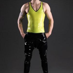 Athletic Tanktop_Sweatpants_Aries_Maniac Latex