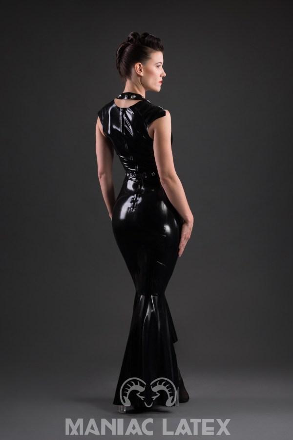 Pin Stripe Dress (3)_Aries_Maniac Latex