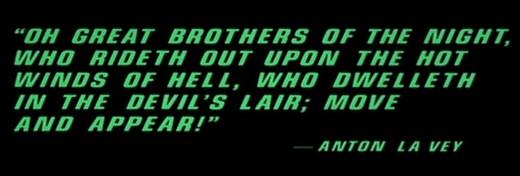 2 - Satanic Quote