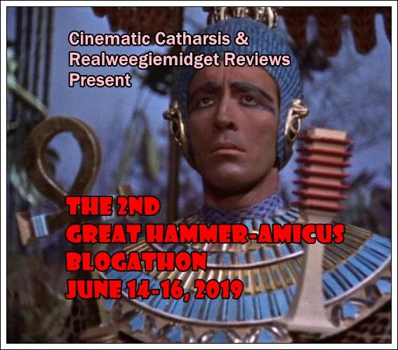 Hammer-Amicus Blogathon II - Mummy