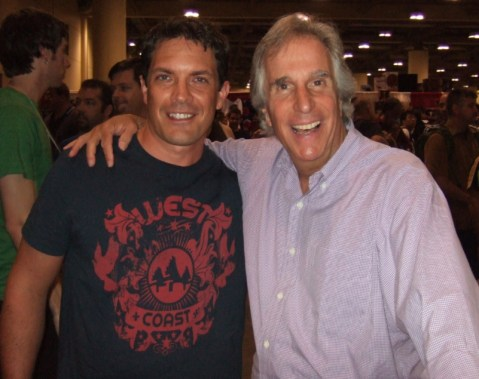 Henry Winkler from Happy Days, 2008