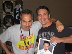 "Larry Thomas, the ""Soup Nazi"" from Seinfeld, 2009"