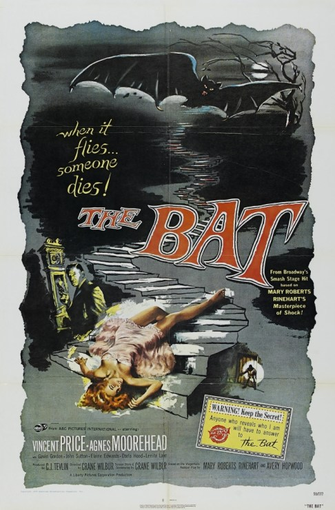 The Bat - Theatrical Poster