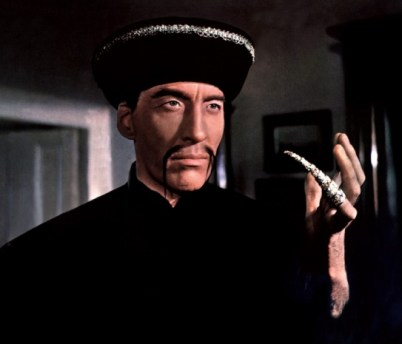 Christopher Lee as Fu Manchu