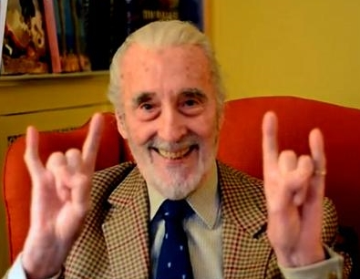 Heavy Metal Christopher Lee
