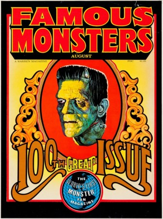 Famouse Monsters of Filmland 100