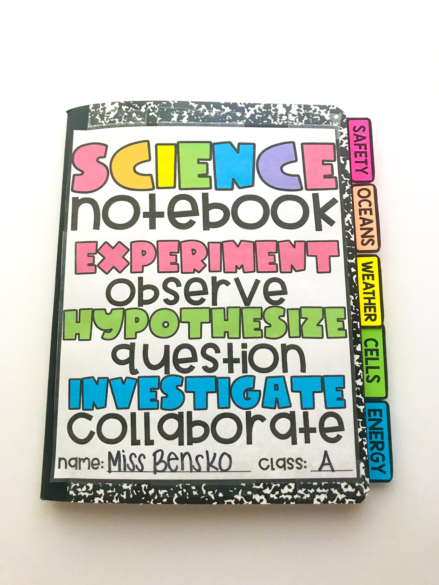 hight resolution of Science Interactive Notebooks - Maniacs in the Middle