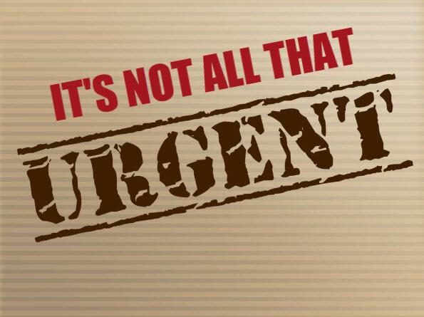 Not urgent