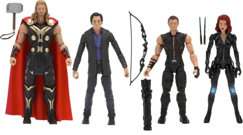 marvel legends amazon 4pack