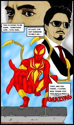 Iron Spider-Man Comics