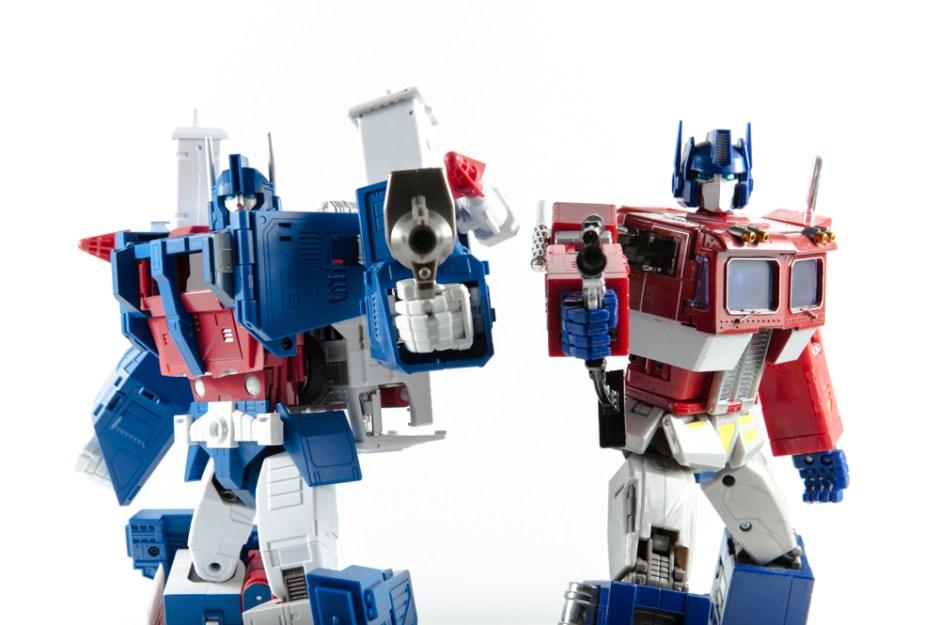 masterpiece ultra magnus and optimus prime