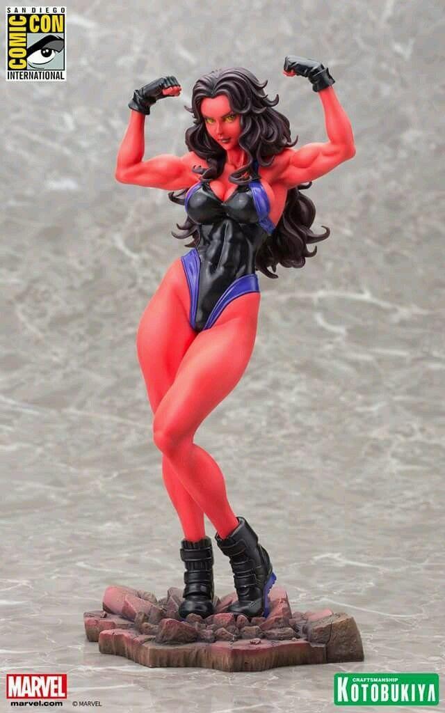 sdcc 2015 marvel kotobukiya red she-hulk
