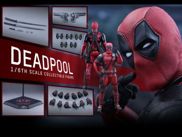 Hot Toys Deadpool 2016