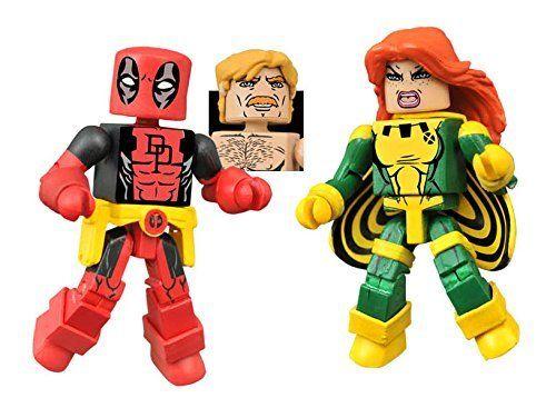 Diamond Select Deadpool z Jean Grey Minimates