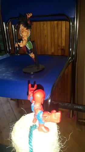 banpresto bardock vs heromashers spider-man