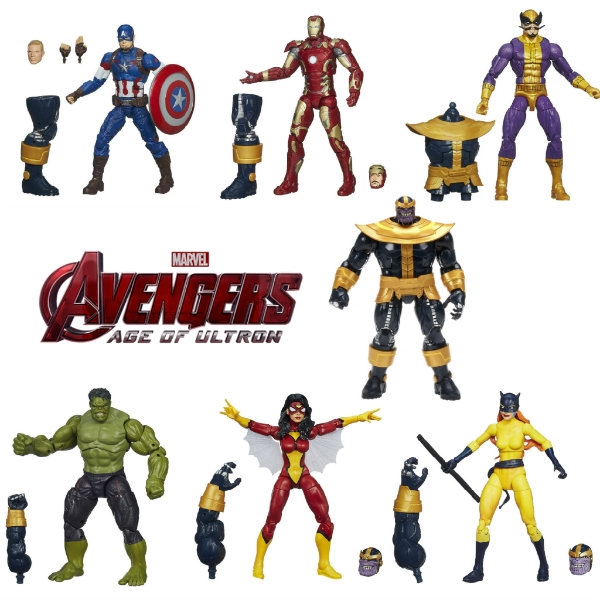 "figurki Thanos marvel legends 6"""