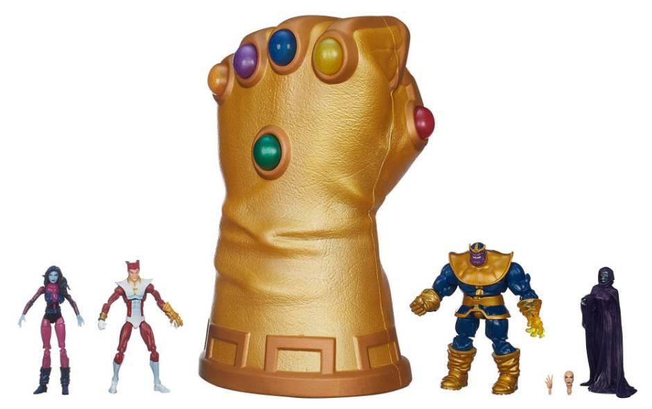 figurki Thanosa marvel 3.75 sdcc infinity gauntlet
