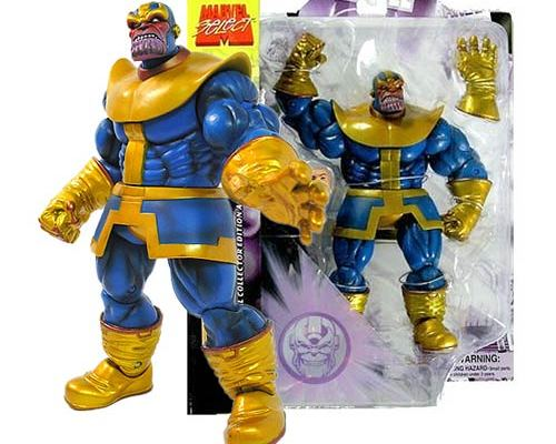 figurki thanos marvel select komiksowe