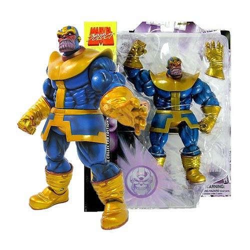 figurki thanos marvel select komiksowe