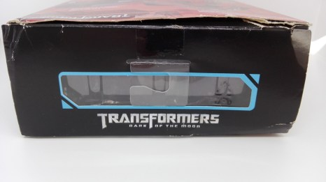Transformers Studio Series Crowbar box-top