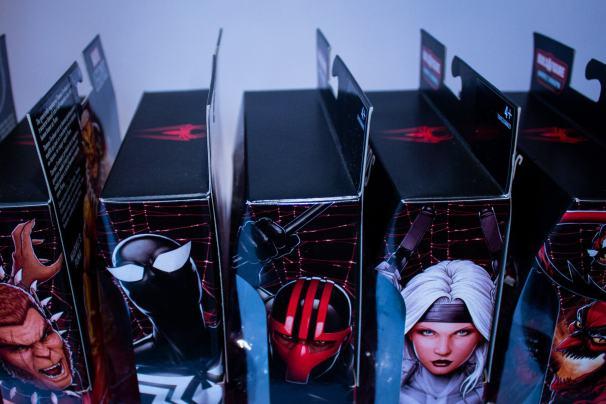 Maniacyfigurek Marvel Legends Kingpin BAF Pudełka Zbiorczy 2