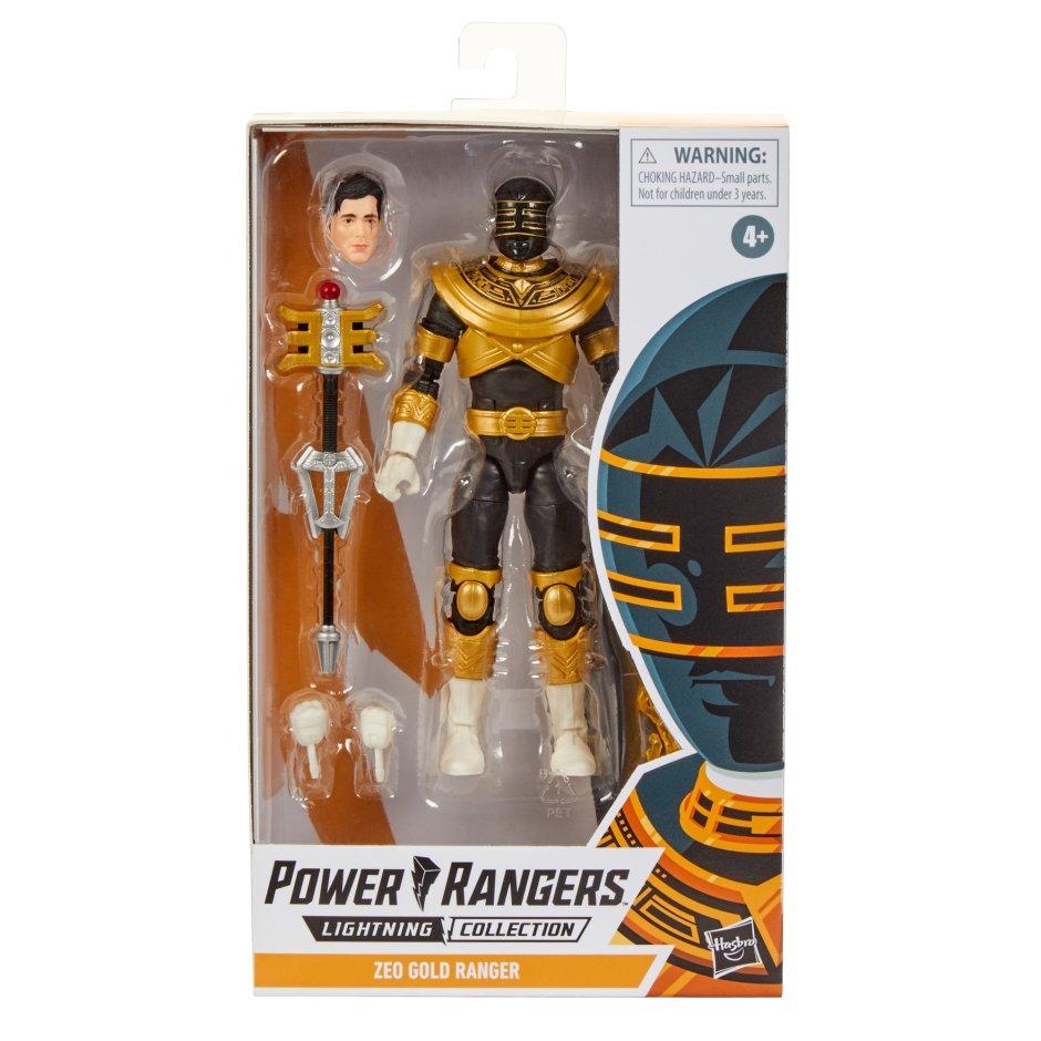 gold zeo ranger hasbro