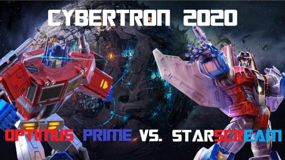 Debata Prezydencka Starscream Optimus Miniatura