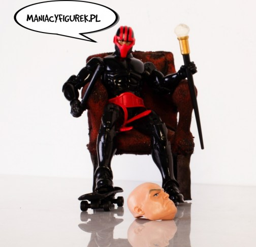 ManiacyFigurek Marvel Legends Kingpin BAF Night Thrasher 1