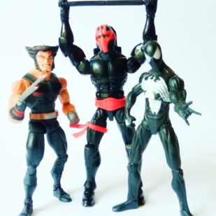 ML AoA Wolverine, ML Spiderman Black