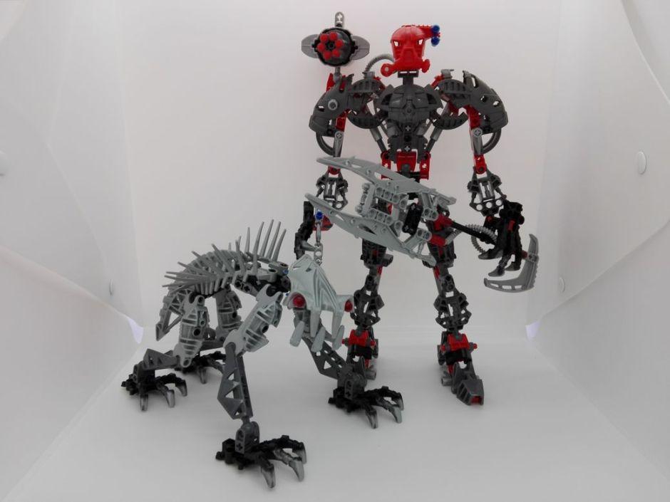 LEGO Bionicle 8924 Maxilos & Spinax main