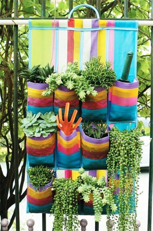 ideia jardim vertical 2 DIY: faça um jardim vertical!