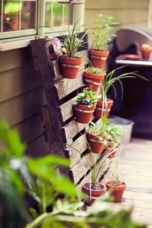 ideia jardim vertical 4 DIY: faça um jardim vertical!