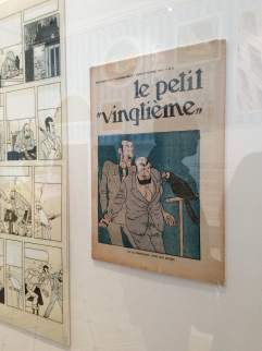 The newspaper that first published Tintin.