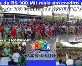 SUPERINTENDENTE DO INCRA VISITA MANICORÉ COM COMITIVA E REÚNE COM FAMÍLIAS ASSENTADAS