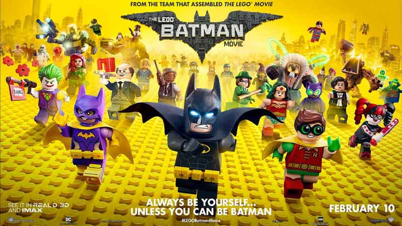The LEGO Batman Movie – arguably the only canonical Batman in the DC Cinematic Universe