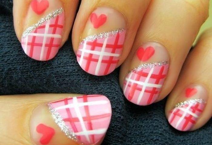 30 Preciosas Uñas Decoradas Para El Día De San Valentín Manicure